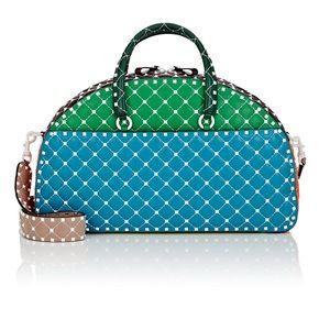 VALENTINO Rockstud Leather Bowling Bag 🔥$3795+tax